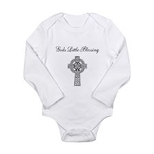 God's Little Blessing Long Sleeve Infant Bodysuit