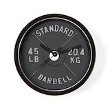 Bodybuilding Wall Clocks