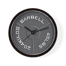Barbell Wall Clock