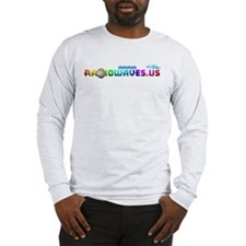 RadioWaves Round Logo Long Sleeve T-Shirt