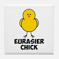 Eurasier Chick Tile Coaster