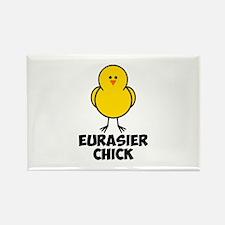 Eurasier Chick Rectangle Magnet