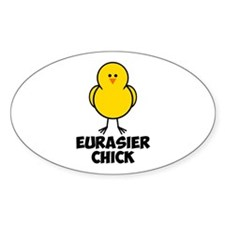 Eurasier Chick Decal