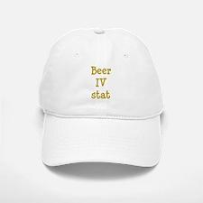 Beer IV stat Baseball Baseball Cap