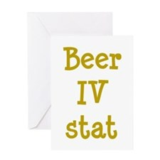 Beer IV stat Greeting Card