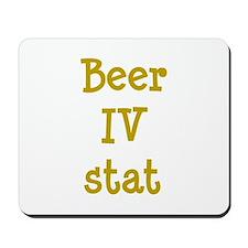 Beer IV stat Mousepad