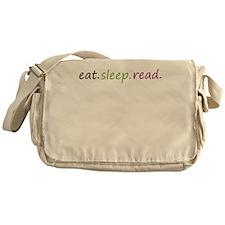 Funny Eat sleep Messenger Bag