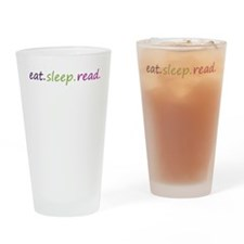 Cool Eat and sleep Drinking Glass