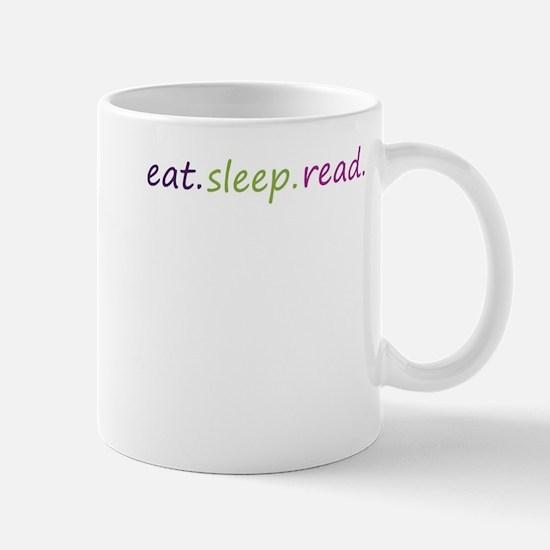 Cute Eat sleep read Mug