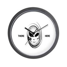 aliens there here Wall Clock