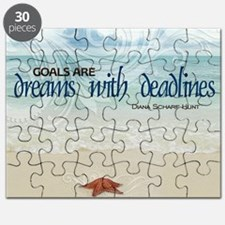 Goals Quote on Jigsaw Puzzle