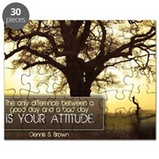 Good Day Quote on Jigsaw Puzzle