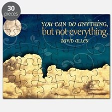 Do Anything Quote on Jigsaw Puzzle