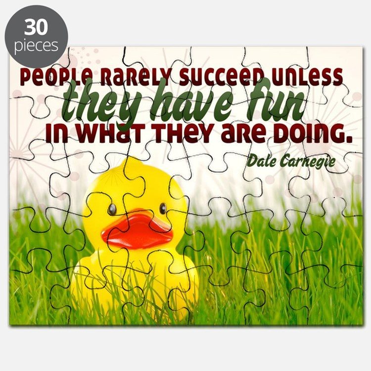Succeed Quote on Jigsaw Puzzle