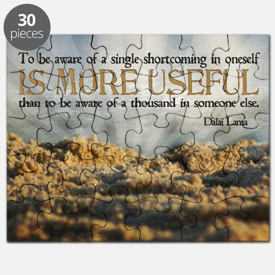 Shortcoming Quote on Jigsaw Puzzle
