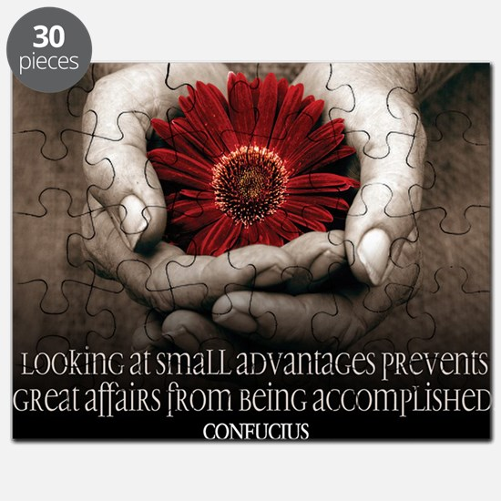Great Affairs Quote on Jigsaw Puzzle