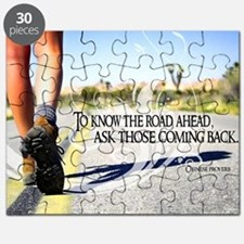 Road Ahead Quote on Jigsaw Puzzle