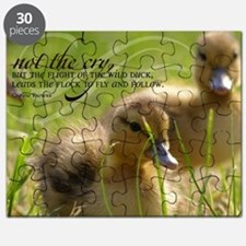 Fly and Follow Quote on Jigsaw Puzzle