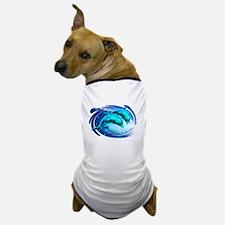 dolphin surf Dog T-Shirt