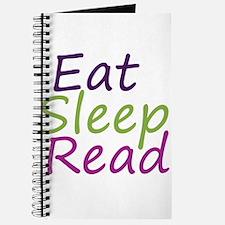Cute Eat sleep read Journal