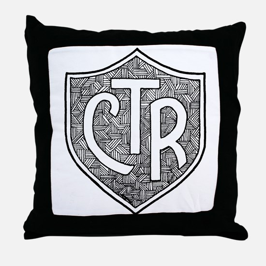 CTR Throw Pillow
