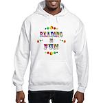 Reading is Fun Hooded Sweatshirt