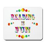 Reading is Fun Mousepad