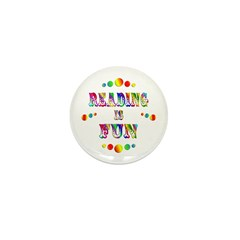 Reading is Fun Mini Button (100 pack)