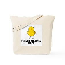 French Bulldog Chick Tote Bag