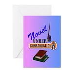 Novel Under Construction Greeting Cards (Pk of 20)