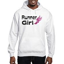 Funny Run like a girl Hoodie