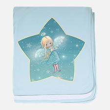 Star Angel baby blanket
