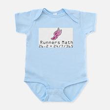 Unique Runner girl Infant Bodysuit