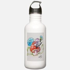 Mouzie Counques Mt. Mushroom Water Bottle