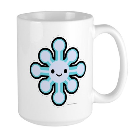 Cute Snowflake Large Mug