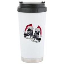 Funny Ice skate Travel Mug
