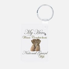 National Guard wife Keychains