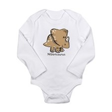 Nibletsaurus Long Sleeve Infant Bodysuit