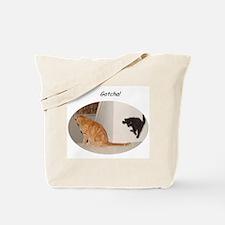 Gotcha Cat & Kitten Tote Bag