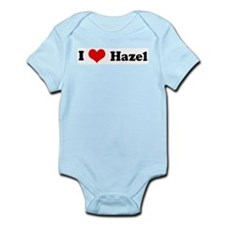 I Love Hazel Infant Creeper
