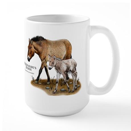 Przewalski's Horse Large Mug