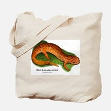 Red Salamander Tote Bag