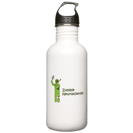 Zombie Neuroscientist Stainless Water Bottle 1.0L