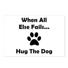 Hug The Dog Postcards (Package of 8)