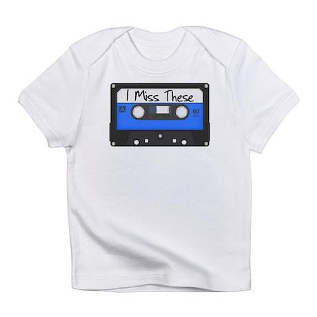 Tape Cassette Never Forget Infant T-Shirt