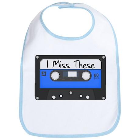Tape Cassette Never Forget Bib
