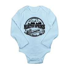 Manitou Springs Old Circle Long Sleeve Infant Body