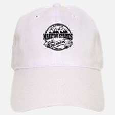 Manitou Springs Old Circle Baseball Baseball Cap