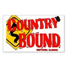 Country Bound Decal