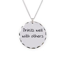 Drinks Well Necklace
